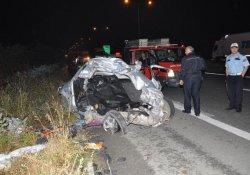 Kontrolden Çıkan Otomobilde 1 Ölü