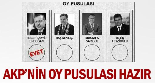 AKP'li vekilden 'oy pusulalı' tweet!