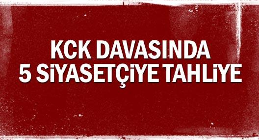 KCK Diyarbakır davasında 5 tahliye