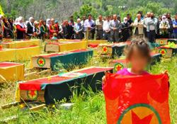 36 PKK'li defnedildi