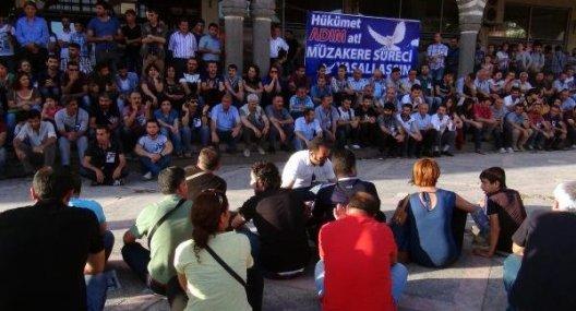STK'lardan Lice protestosu