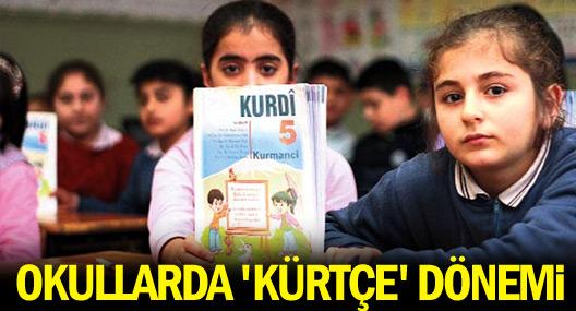 Okullarda Kürtçe ders seçme dönemi