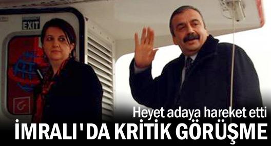 HDP heyeti Öcalan ile görüşmek için İmralı'ya gitti