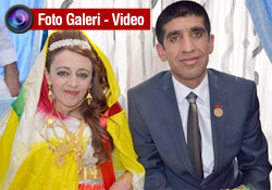 Derviş ve Sultan evlendi
