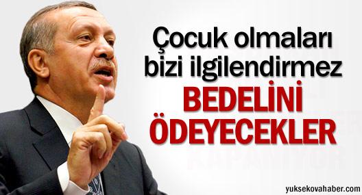 Erdoğan'dan Lice tepkisi: Bedelini ödeyecekler