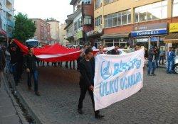 Bitlis'te Ülkücülere sert tepki!