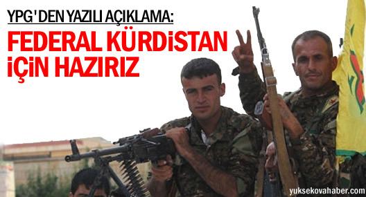 YPG: Güney halkı ile aynı mevzide savaşacağız