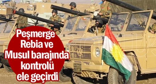Peşmerge Güçleri Rebia ve Musul barajında kontrolü ele geçirdi