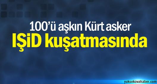 Tikrit'te 100'ü aşkın Kürt asker IŞİD kuşatmasında