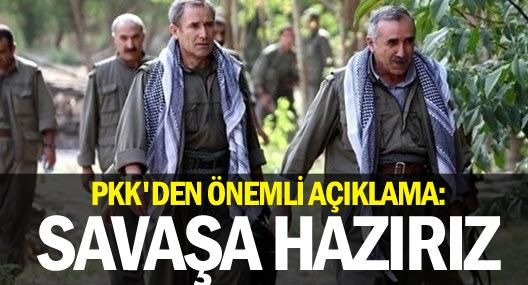 KCK: Gerilla Peşmerge ile birlikte aktif savaşa hazır