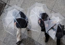 Antalya güne yağmurla uyandı