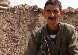 Kerkük'te 1 PKK'li yaşamını yitirdi