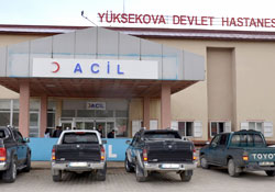 Yüksekova'da kaza: 1 yaralı