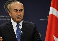 Çavuşoğlu, İran Dışişleri Bakanı ile bir araya geldi