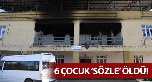 Altı çocuğun yandığı Kuran kursu 'sözlü izin'le açılmış