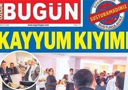 """""""Özgür Bugün Gazetesi""""ni çıkaran 3 gazeteciye 3 yıl istendi!"""