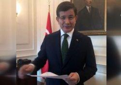 Davutoğlu, Facebook'tan yapılan canlı yayında konuştu