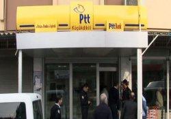 Adana'da pompalı tüfekli PTT soygunu