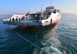 Türkiye'nin en büyük feribotu, ilk deneme seferine çıktı