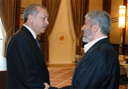 Cumhurbaşkanı Erdoğan, Halid Meşal'i kabul etti