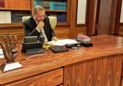 Erdoğan Beştepe'deki Devlet Konukevi'ne taşındı