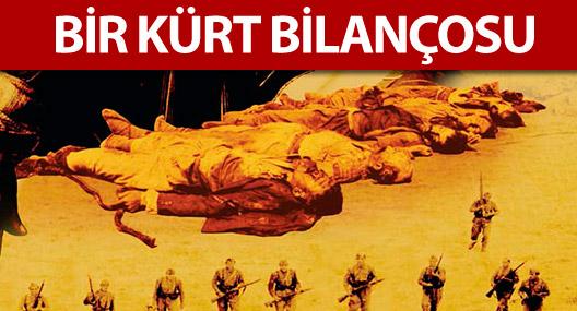 Cumhuriyet'in kanlı 'Kürt bilançosu'