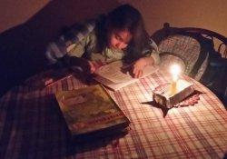 Mum ışığında ders