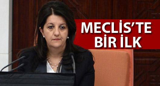Meclis'te bir ilk: HDP'li vekil meclisi yönetti