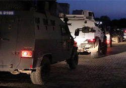 İdil'de polise roketli saldırı