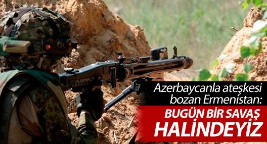 Ermenistan: Azerbaycan'la ateşkes sona erdi