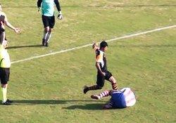 Tekmeci futbolcunun cezası belli oldu