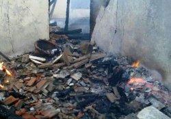 Soba yakmak isterken, yangın çıktı: 1 ölü, 1 yaralı