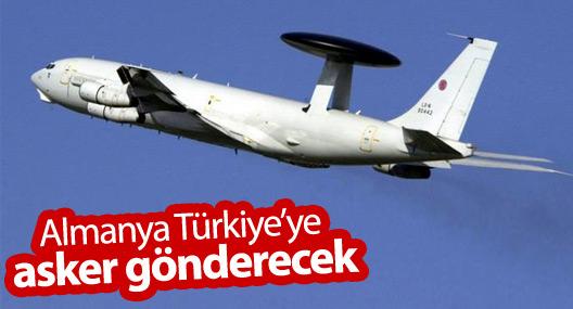 Almanya Türkiye'ye asker gönderecek