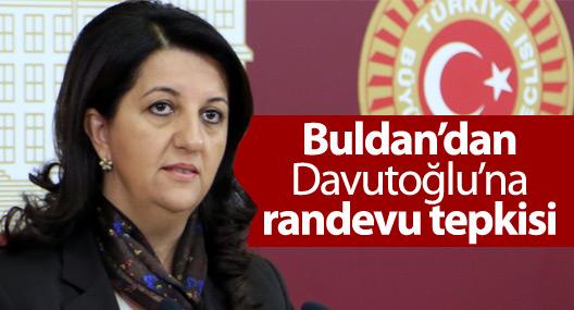 Pervin Buldan'dan Davutoğlu'na tepki