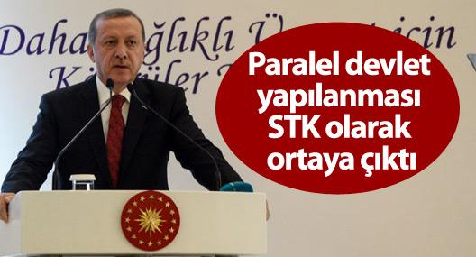 Erdoğan: Paralel devlet yapılanması STK olarak ortaya çıktı