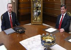Erdoğan, Davutoğlu ile görüşüyor
