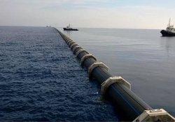Kıbrıs'ta anlaşma yok Türkiye'den gelen su denize akıyor