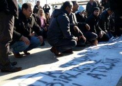 Anadolu Adliyesi'nde oturma eylemi