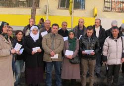 Tutuklulara yeni yıl kartları gönderildi