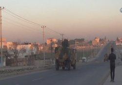 Askeri araçlar İpekyolu üzerinden Cizre'ye geçti