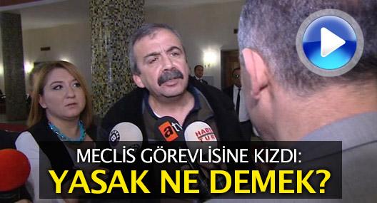 Önder'i öfkelendiren uyarı