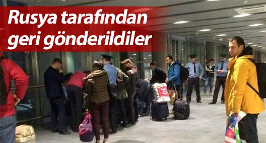 Yılbaşı için Rusya'ya giden 11 Türkiyeli geri gönderildi
