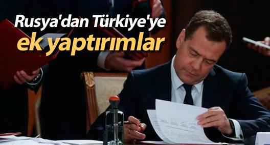 Rusya'dan Türkiye'ye ek yaptırımlar