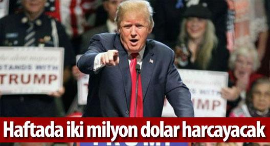 Trump kampanyasına 'haftada iki milyon dolar harcayacak'