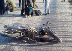 Okul yolunda feci kaza
