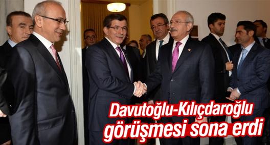 AKP-CHP görüşmesi sona erdi