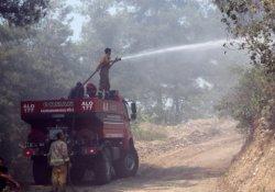 Amanoslardaki orman yangını söndürüldü