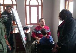 Nujin Kadın Yaşam Evi'nden rehabilitasyon çalışması
