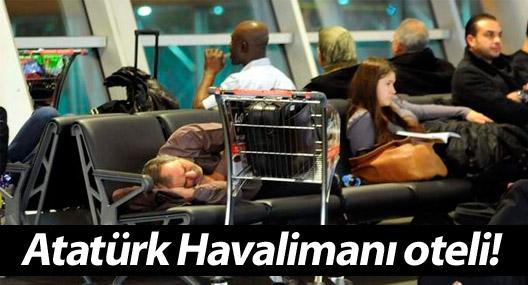 Atatürk Havalimanı oteli!