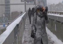 İstanbullunun karla imtihanı